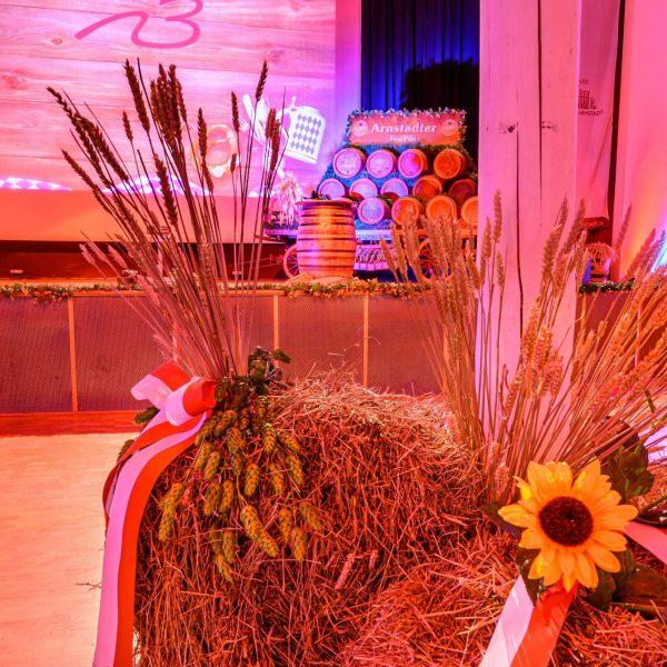 Deko Oktoberfest Stadthalle