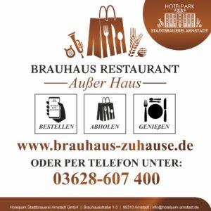 Brauhaus To Go – Speisen zum Mitnehmen